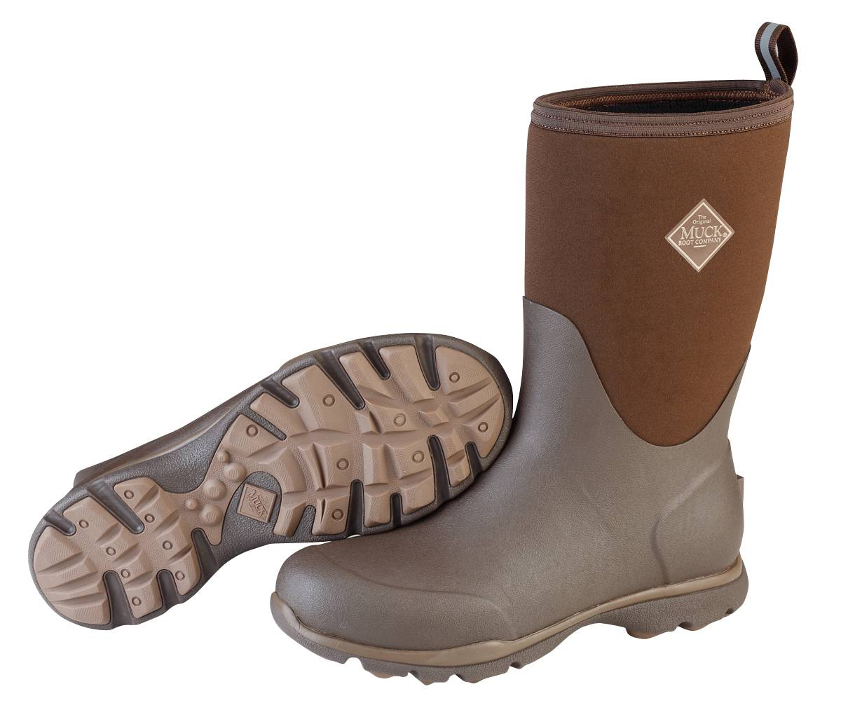 Muck Boots Mens Zx Arctic Excursion Mid - Chocolate Desert Palm