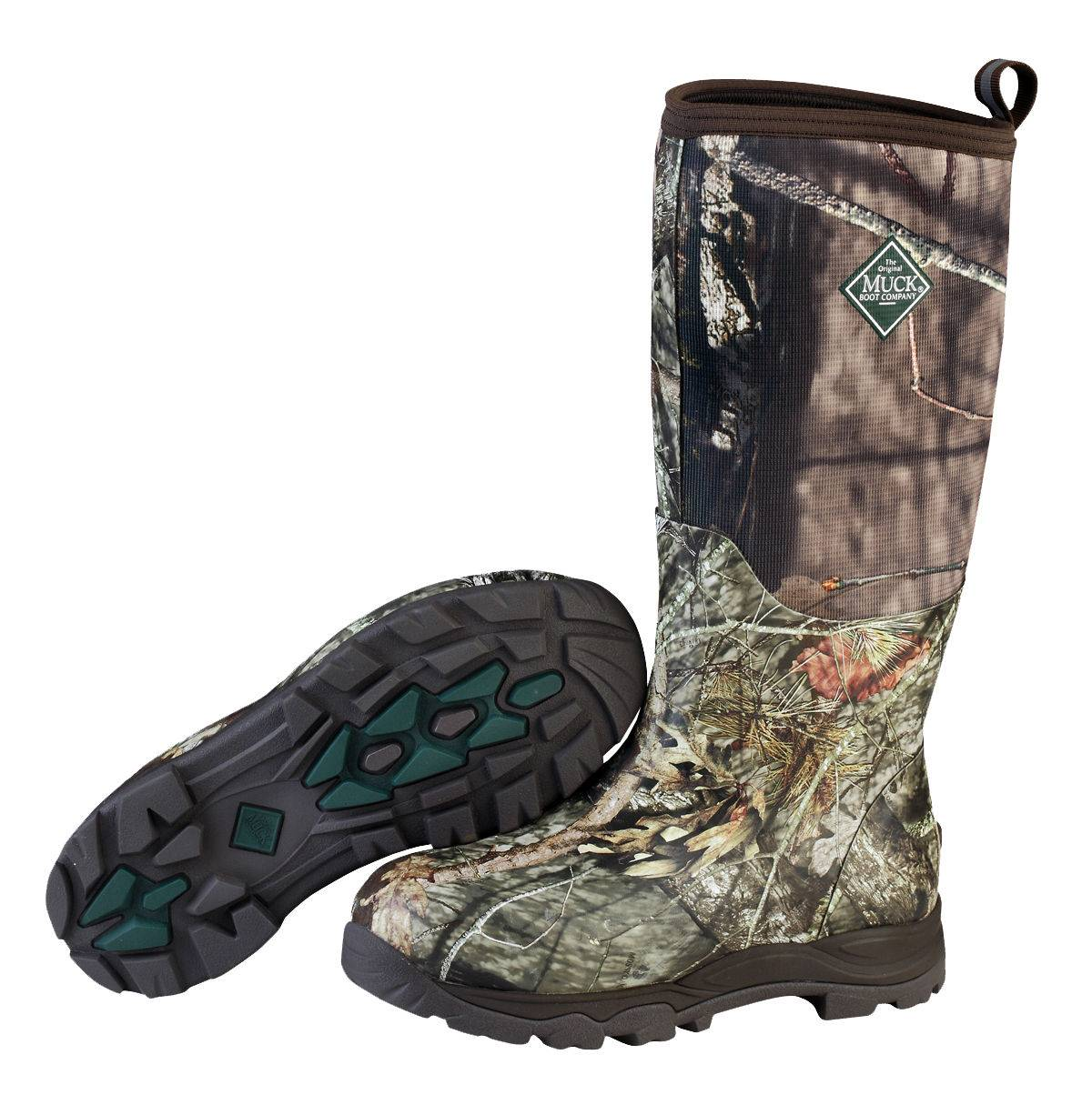 Muck Boots Mens Woody Plus Boots - Mossy Oak Country