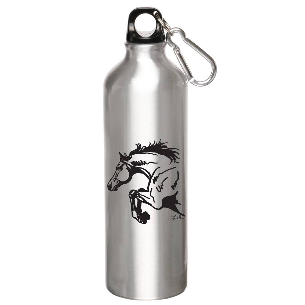 Lila Blakeslee Jumping Horse Sports Bottle