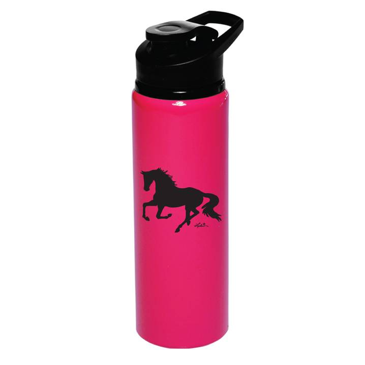 Lila Blakeslee Neon Galloping Horse Aluminum Sports Bottle
