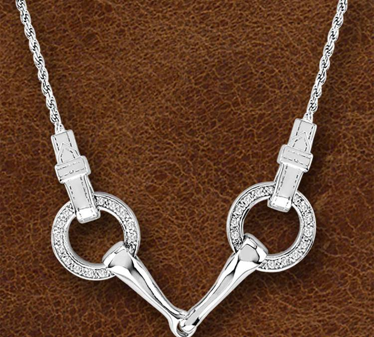 Kelly Herd Silver Snaffle Bit Necklace