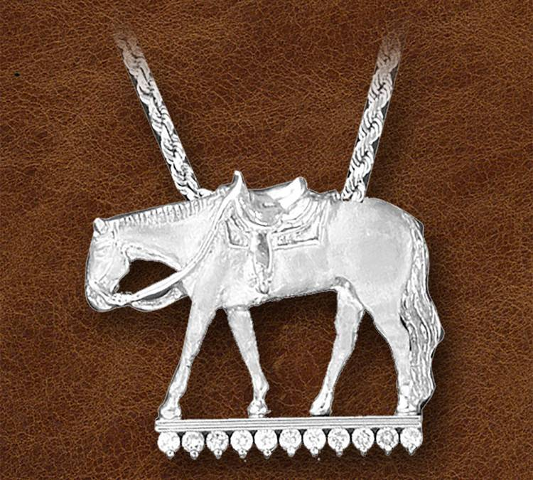 Kelly Herd Silver Western Pleasure Horse