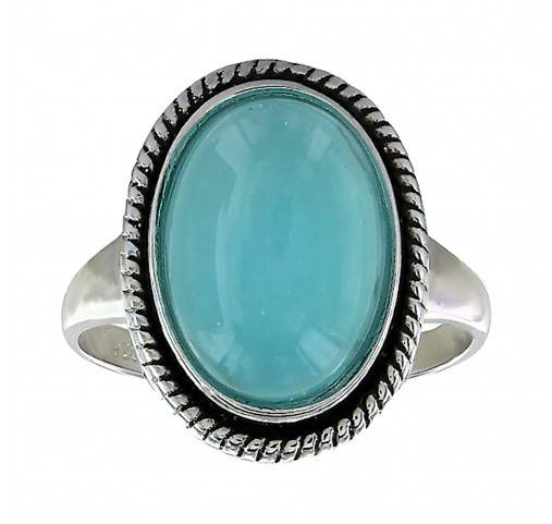Montana Silversmiths Misty Pool Oval Rope Ring