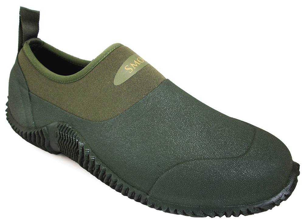 Smoky Mountain Youth Amphibian Slip On Boots - Green