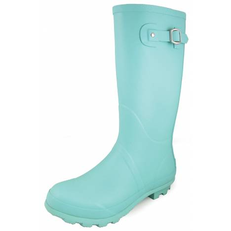Smoky Mountain Ladies 13'' Rubber Boots - Turquoise