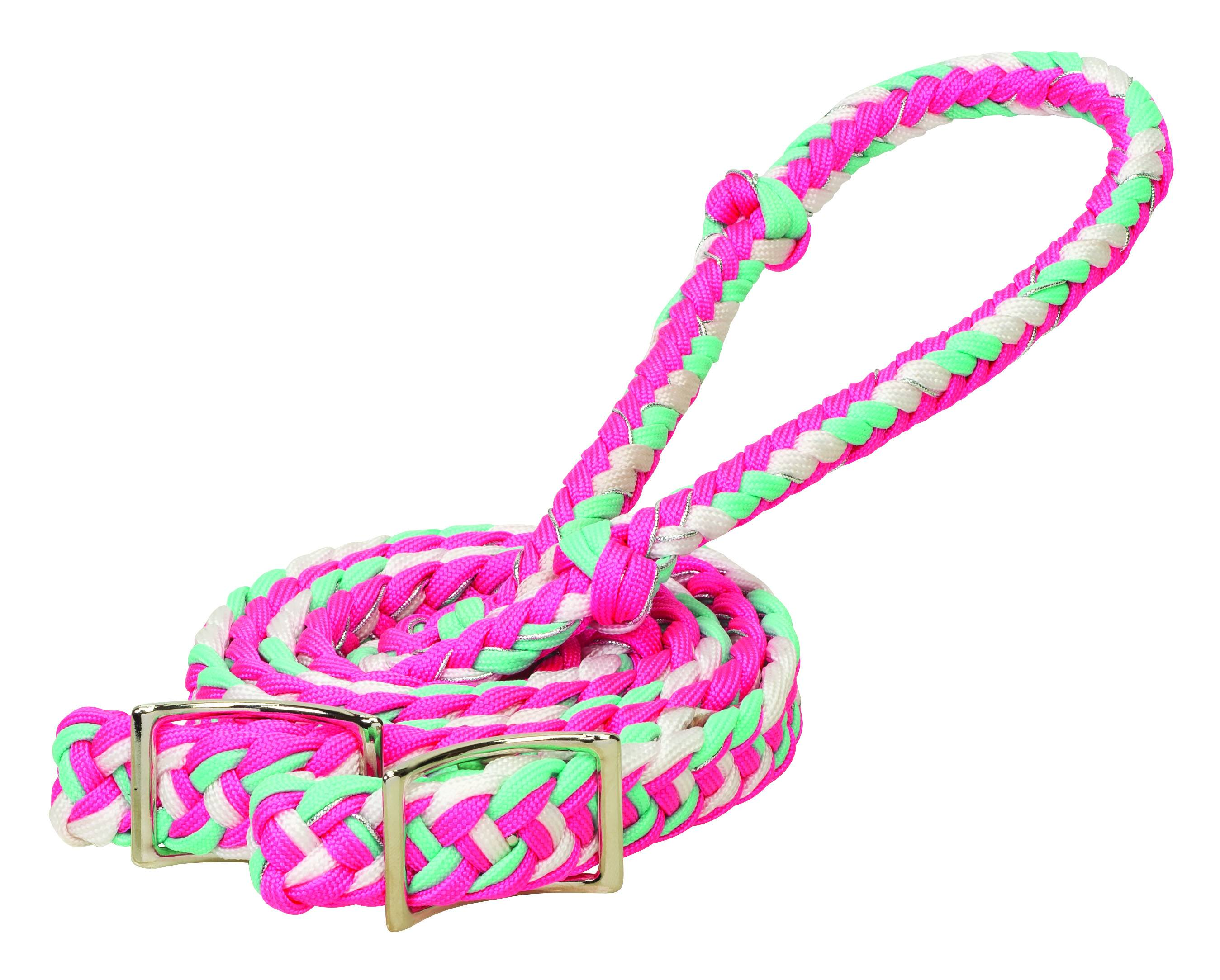 Weaver Braided Nylon Barrel Rein