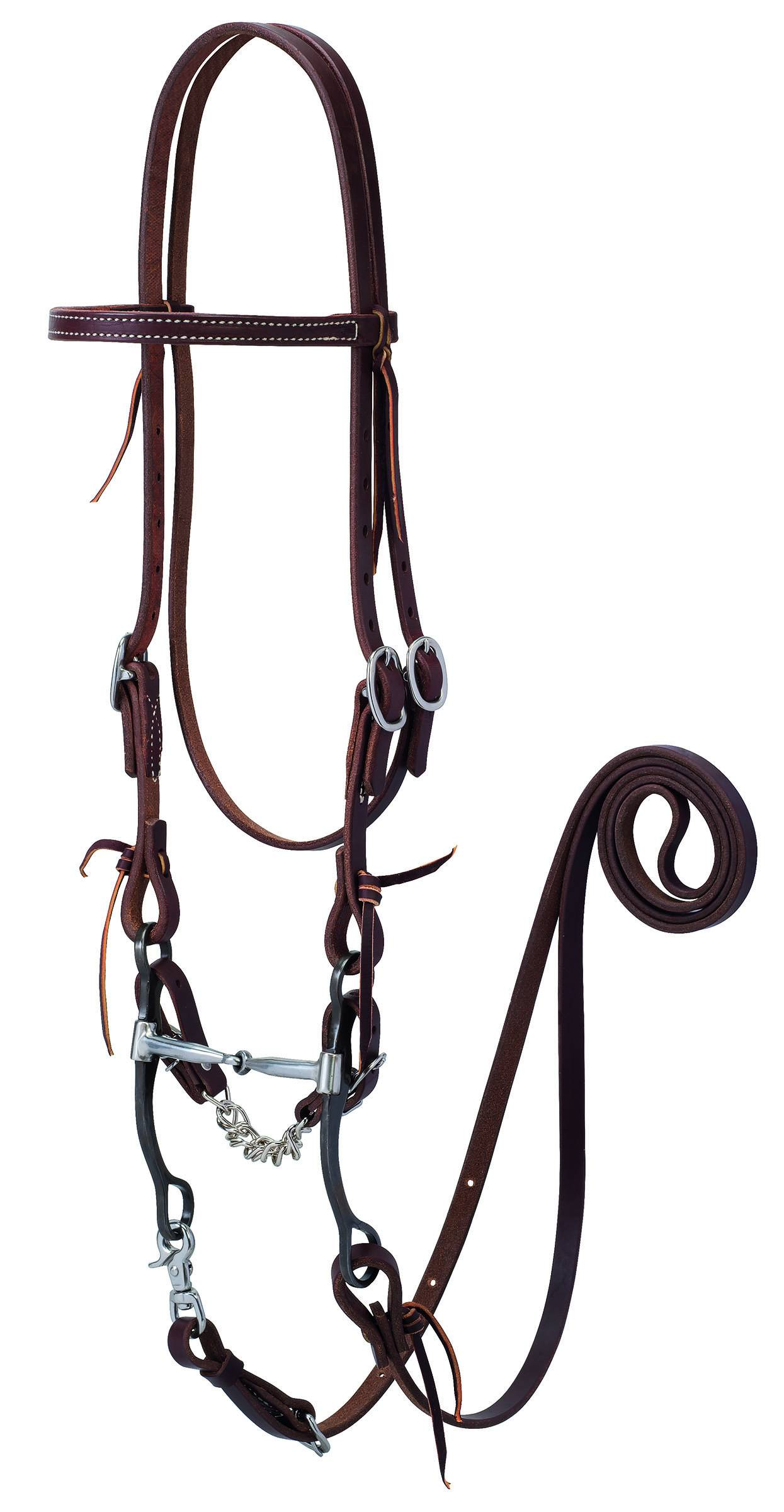 Weaver Working Tack Bridle With Snaffle Bit