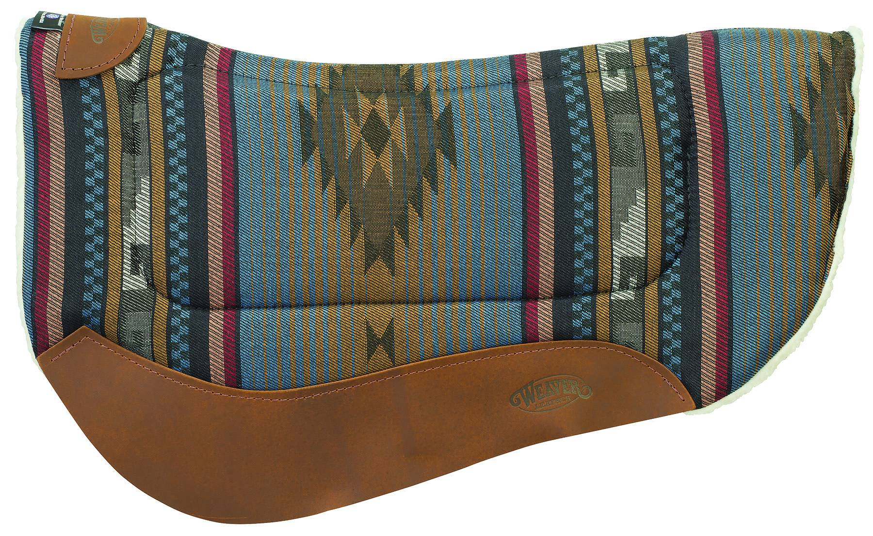 Weaver All Purpose 28X34 Barrel Contour Saddle Pad - H32/H33