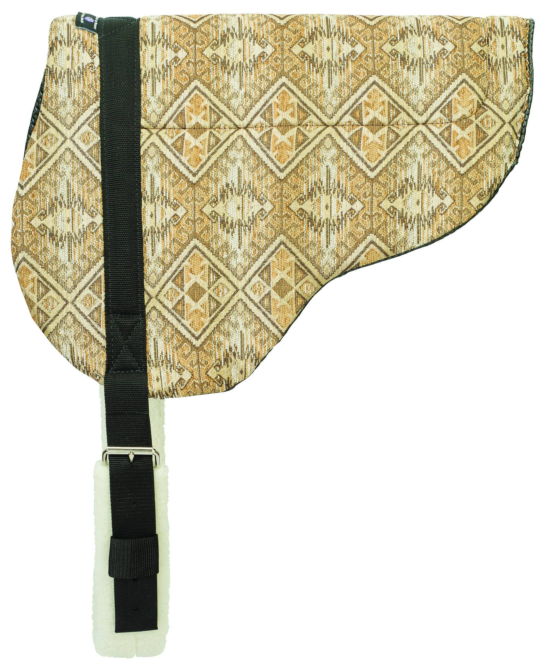 Weaver Herculon Tacky-Tack Bottom Bareback Pad - H34