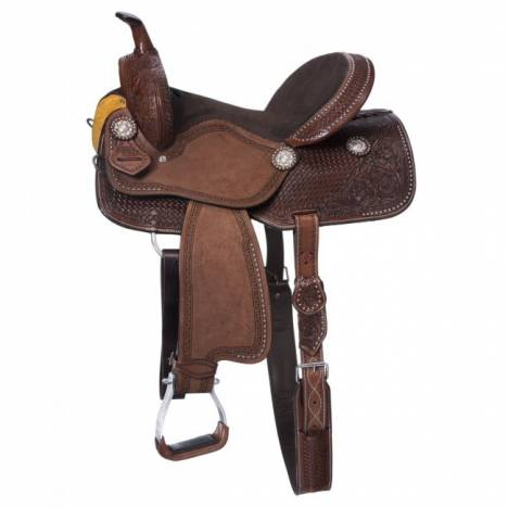 Silver Royal Jackpot Barrel Saddle