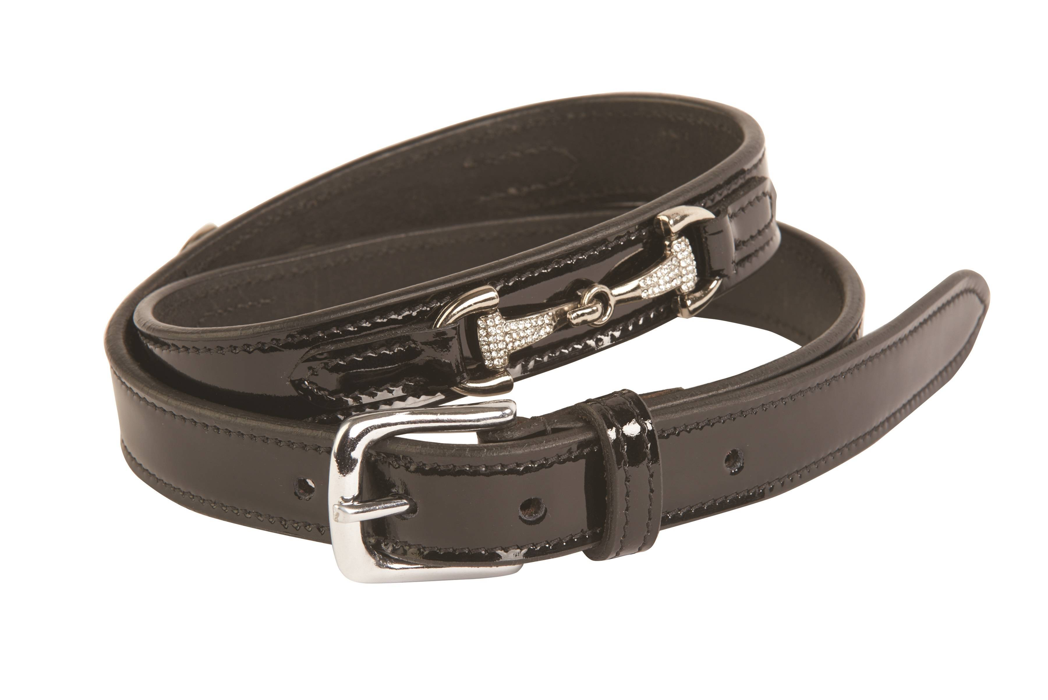 Dublin Ladies Diamante Bit Belt