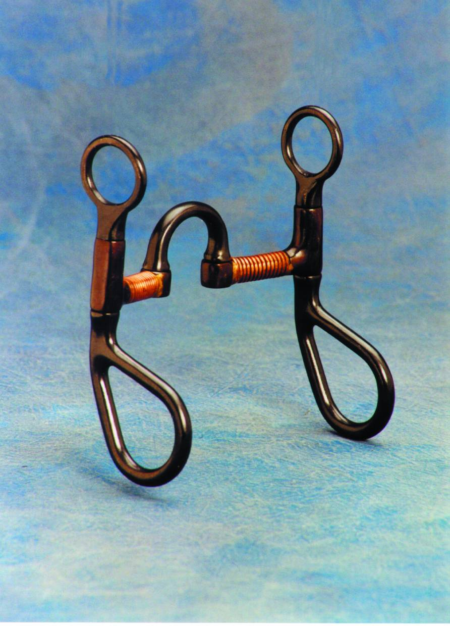 Colorado Saddlery Colt Copper Wire Wrapped Correction Bit