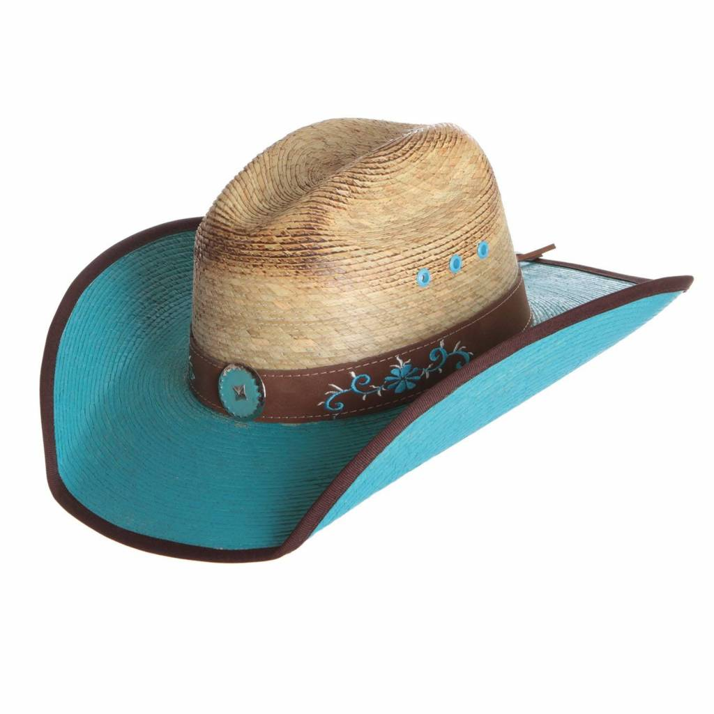 Bullhide Sassy Cowgirl Vista Ridge 15X Palm Leaf Hat