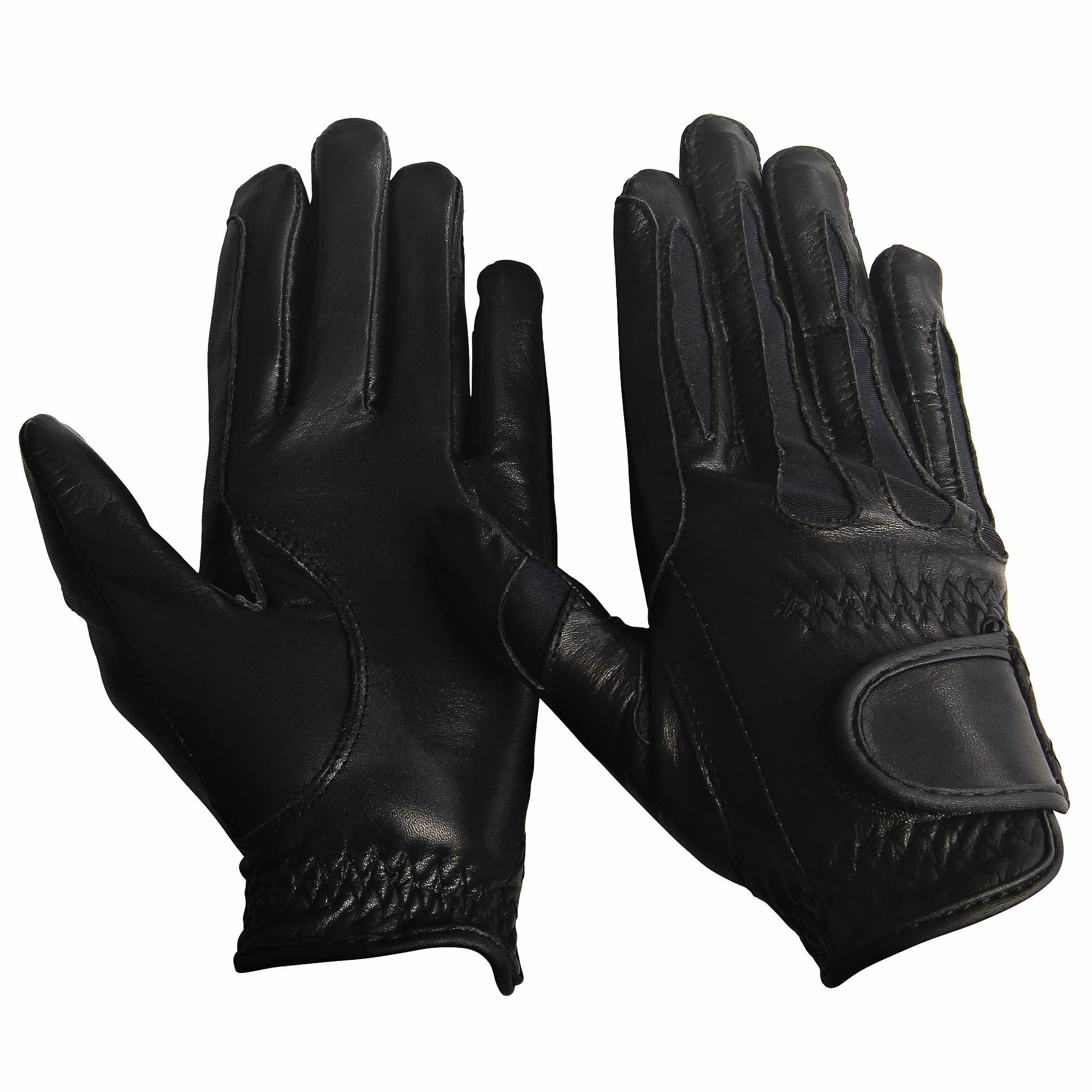 Equine Couture Girls Leather Summer Gloves
