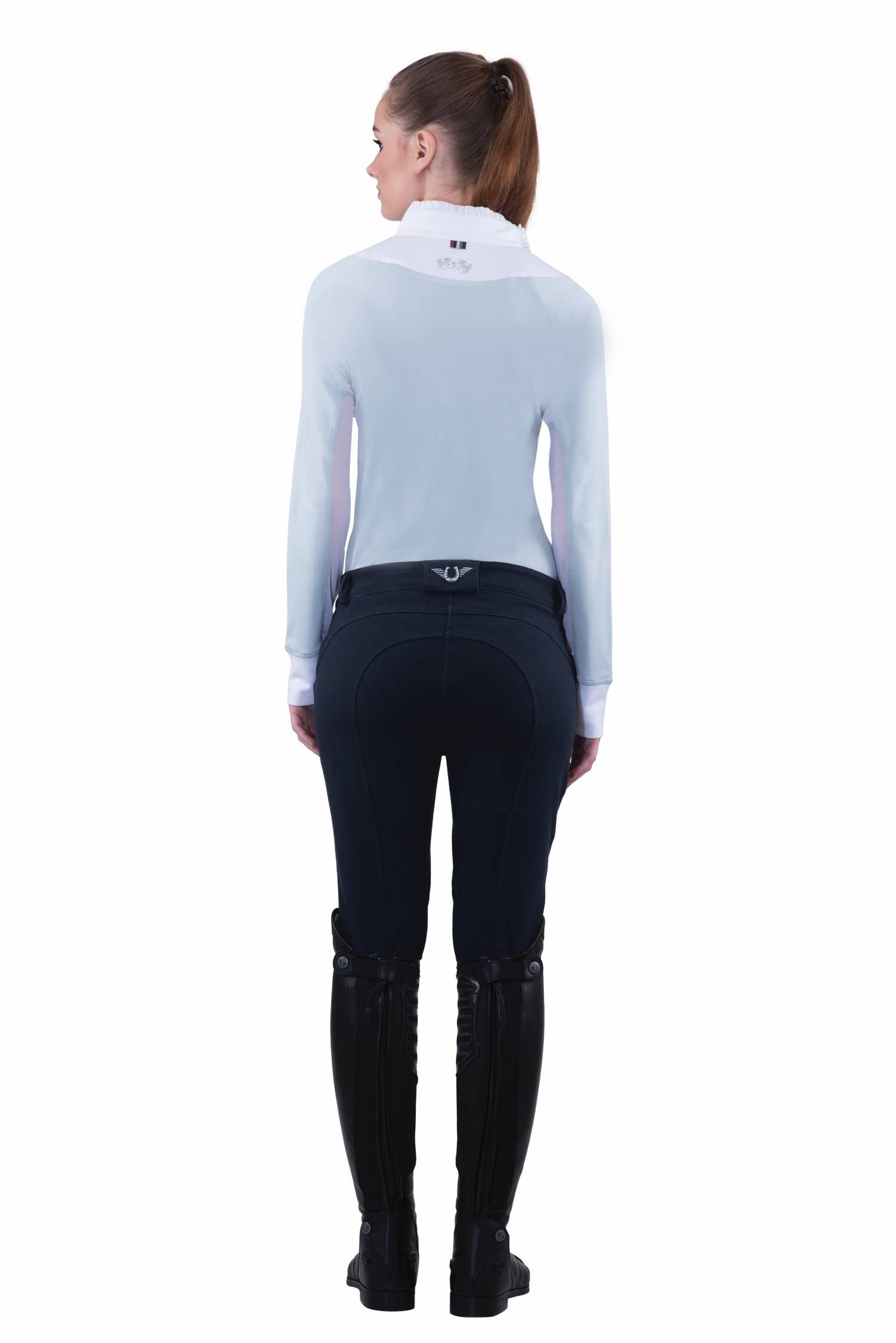 Tuffrider Ladies Active Knee Patch Breeches
