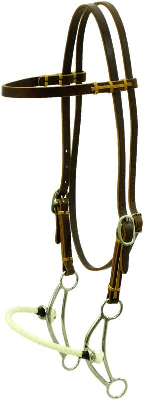 Simco Twisted Wire Side Pull Bridle
