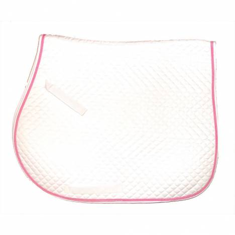 Intrepid Quilted All Purpose Saddle Pad With Color Trim