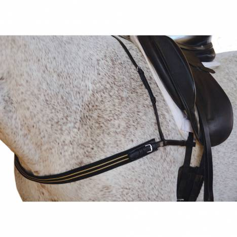 Intrepid Breast Collar With Elastic Web Chest