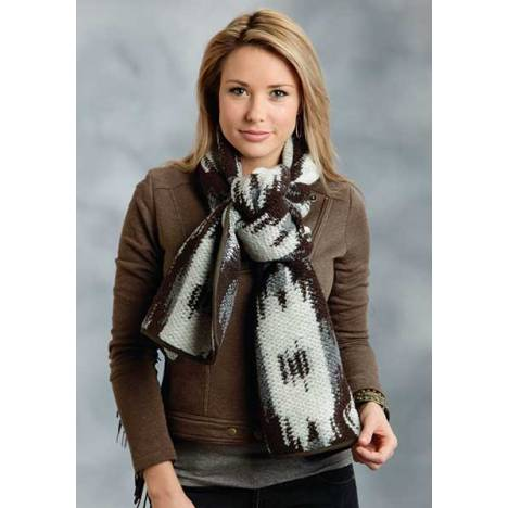 Stetson Ladies Fall I Aztec Large Knit Scarf