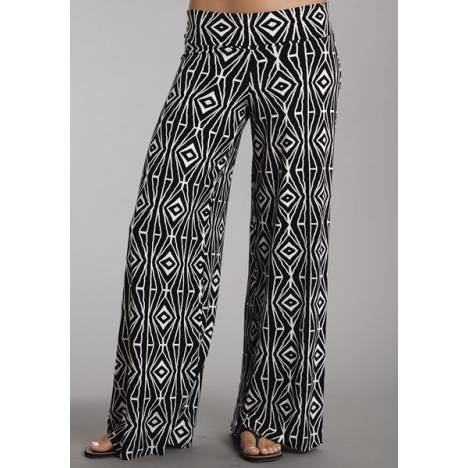 Stetson Ladies Summer I Aztec Print Knit Pants