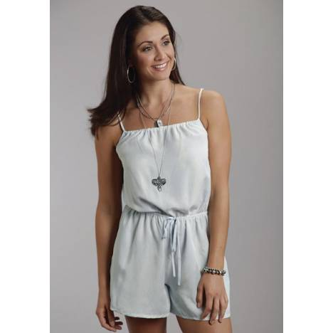 Stetson Ladies Summer II Bleached Out Tencel Romper