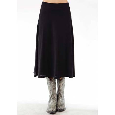 Roper Ladies Soft Sweater Jersey A-Line Skirt