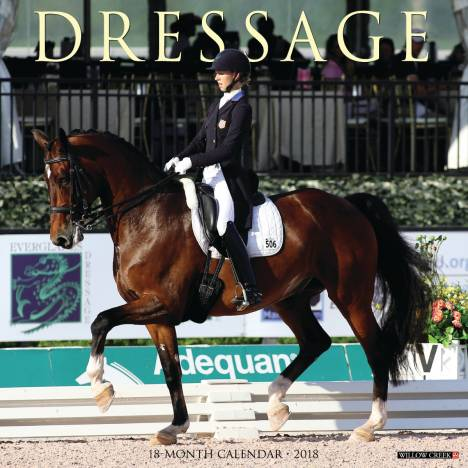 Kelley Dressage 2018 Calendar- 18 Month