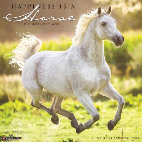Kelley Happiness Is A Horse 2018 Calendar- 18 Month