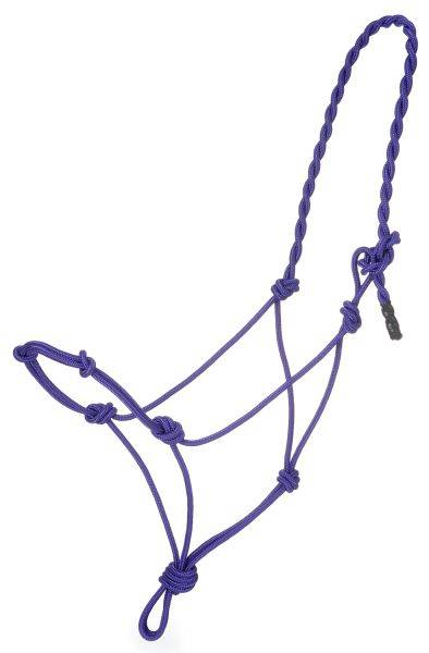 Tough-1 Poly Rope Halter with Knots