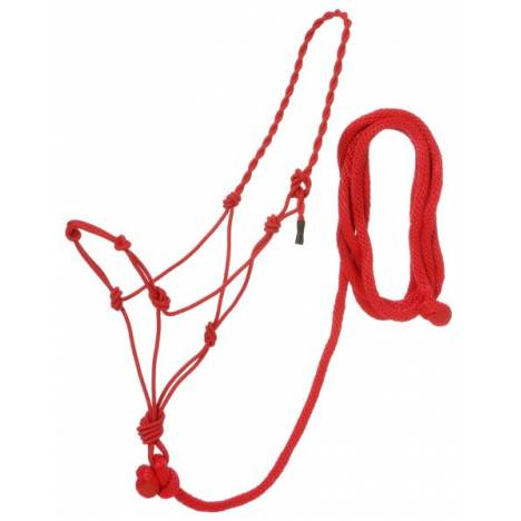 Tough-1 6 Pack Rope Halter with Lead