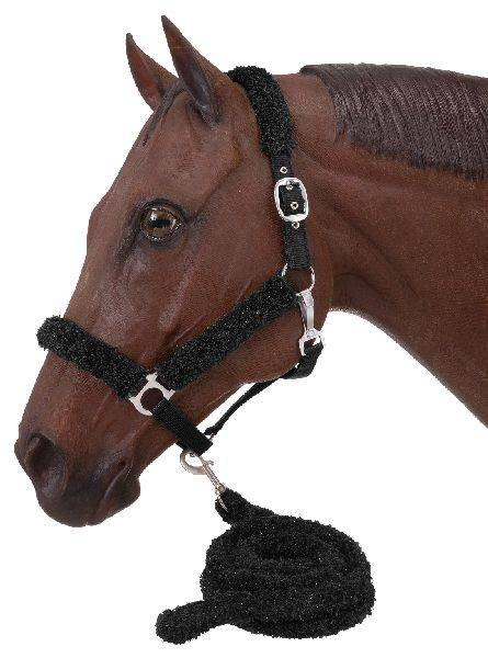 Fuzzy Halter And Lead Set