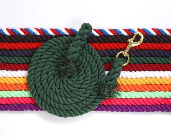 Tough-1 Braided Cotton Lead with Bolt Snap