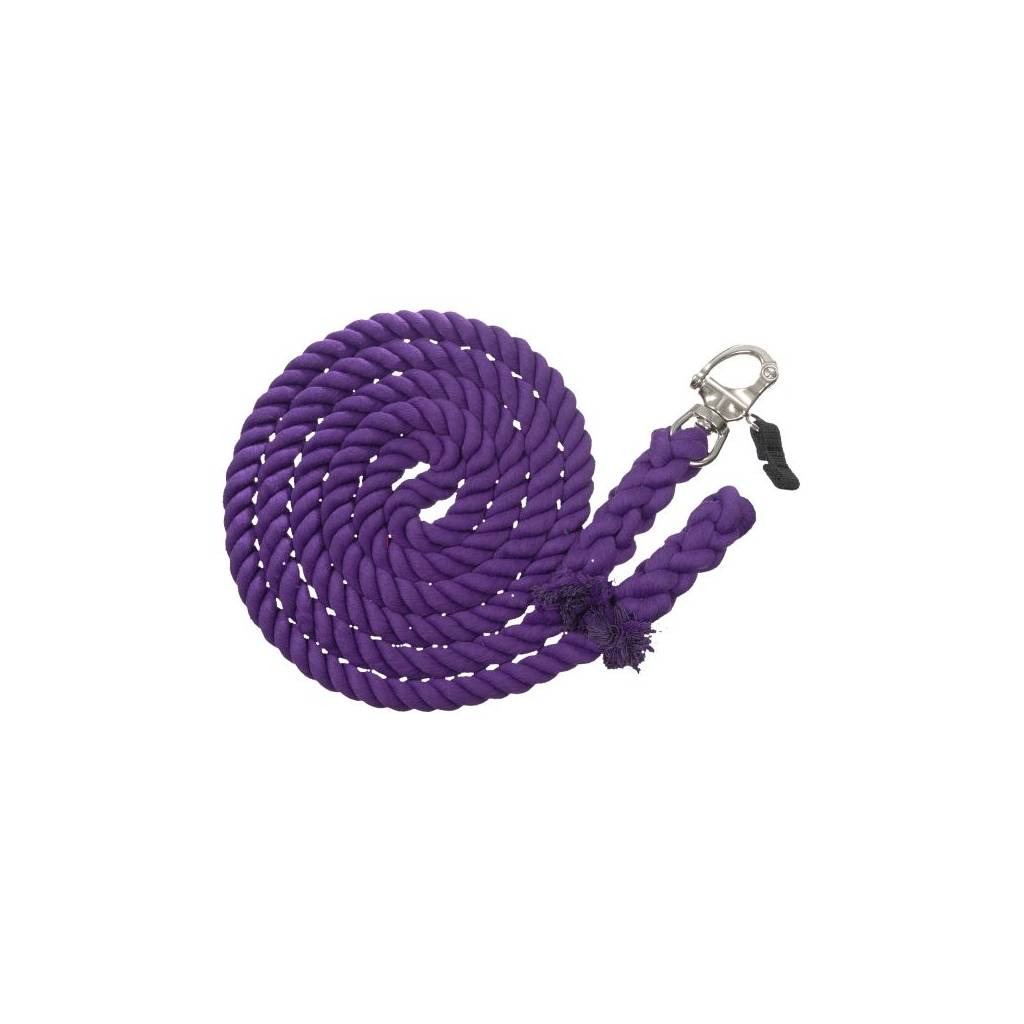 14 Cotton Training Lead With Quick Release Block Snap