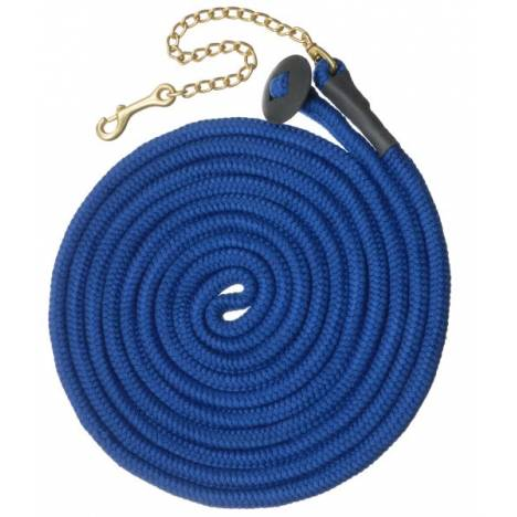 Tough-1 Rolled Cotton Lunge Line with Chain