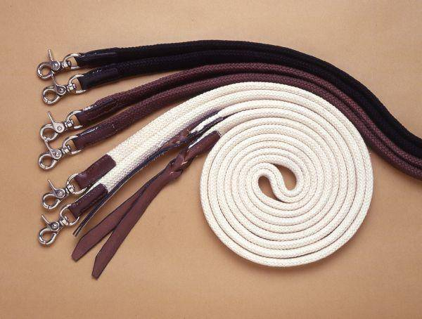 Royal King Deluxe Flat Cotton Split Reins