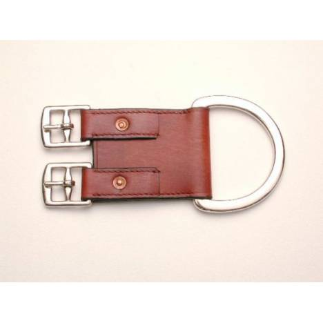 Royal King Leather 2-Buckle Western Girth Converter