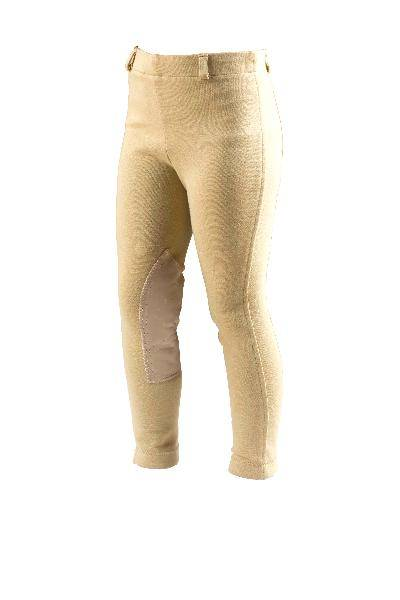 On Course Cotton Natural Kids Adjustable Waist Breeches