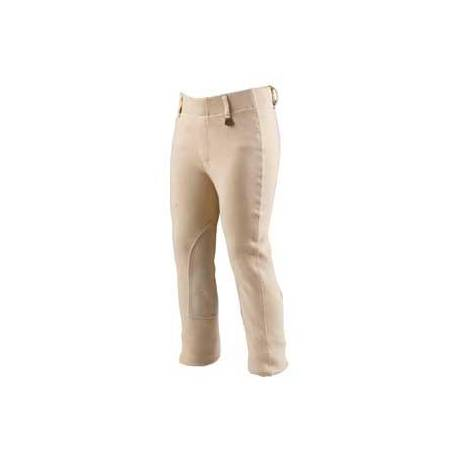 On Course Premier Kids Adjustable Waist Front Zip Breeches Jodhpurs