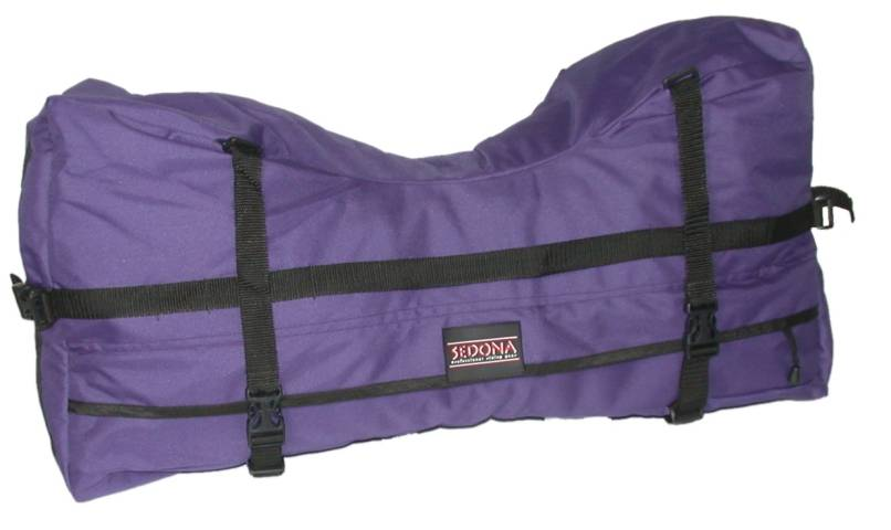 Sedona Nylon Cantle-Bag with Nylon Duffle