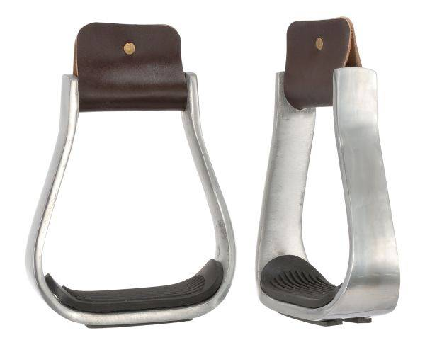 3'' Aluminum Stirrups with Rubber Pad