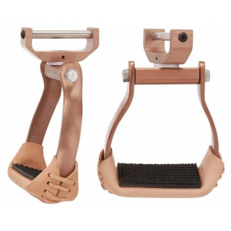 Tough-1 Aluminum Swivel Stirrups