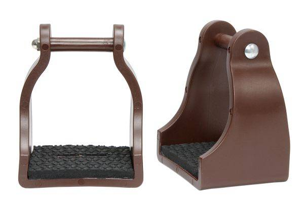 Polymar Padded Endurance Stirrups with 4 1/2'' Tread