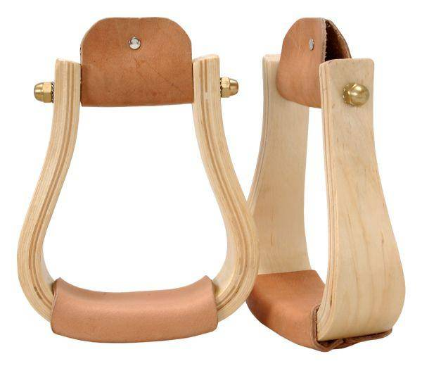 Royal King Hardwood Bell Stirrups