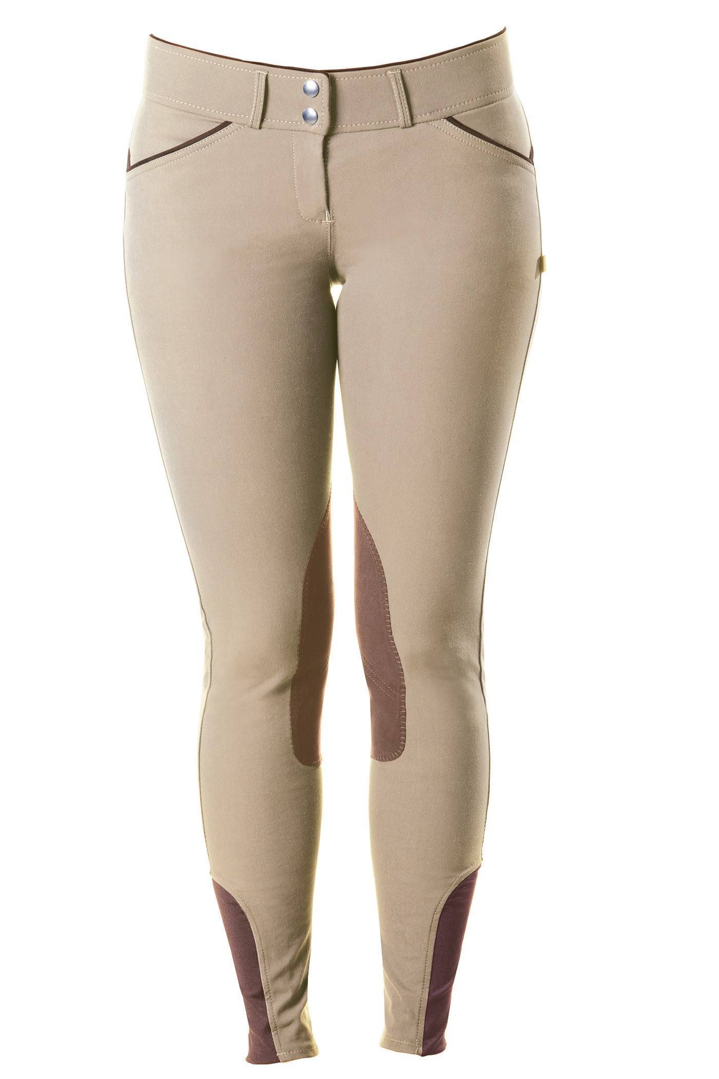 Devon-Aire Ladies Signature Woven Euroseat Breeches