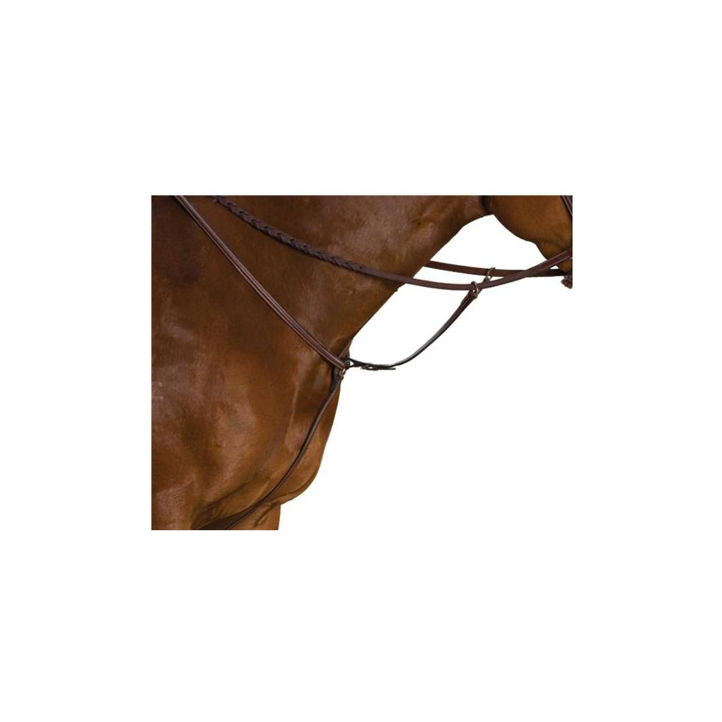 Collegiate Raised Breastplate Standing Martingale