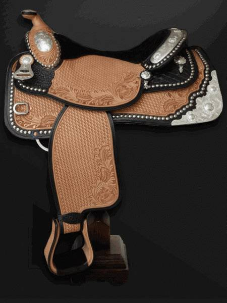 NEW Dale Chavez Crocodile Seat Reining Saddle