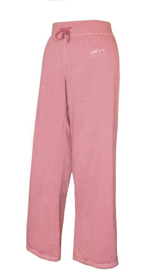 Outback Trading Ladies Embroidered Ponies Sweatpants