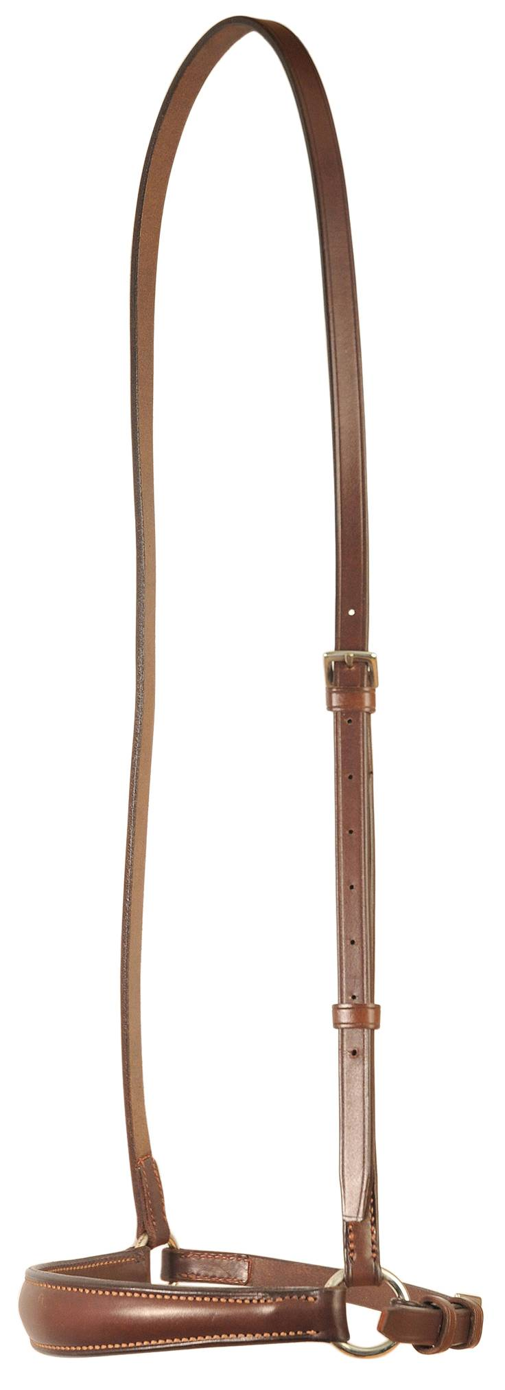 Courbette Plain Raised Dropped Noseband