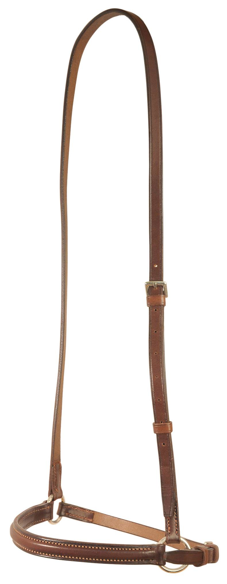 Courbette Square Raised Dropped Noseband
