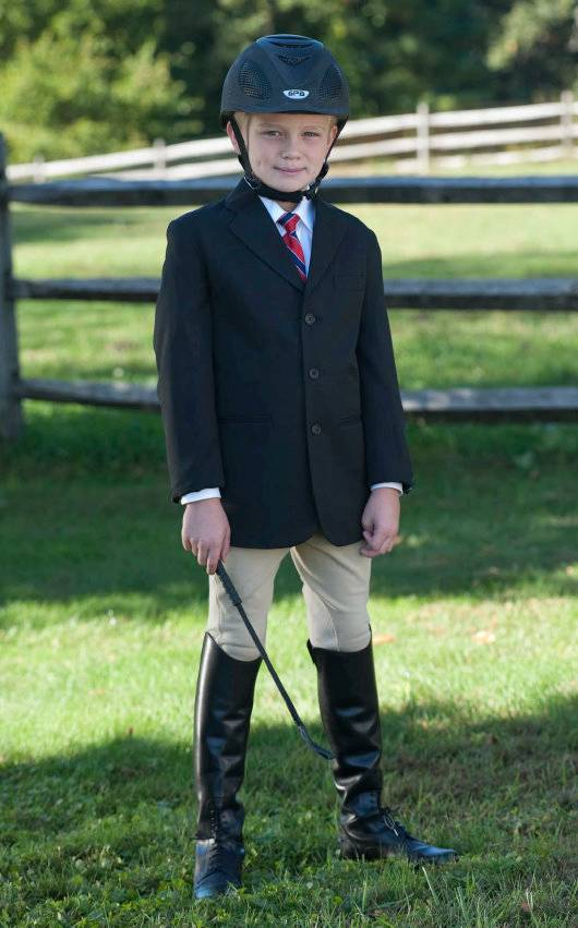 Wellington Collection Boy's Show Coat